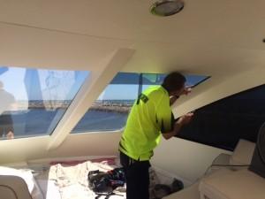 tinting boat windows