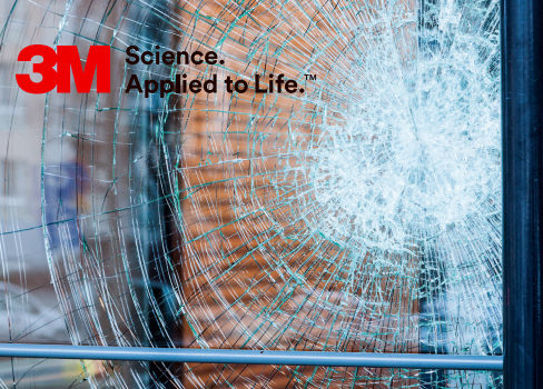 3M™ Scotchshield Clear security film