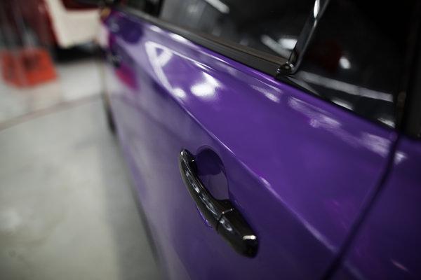 3M Purple Vinyl Car Wrap