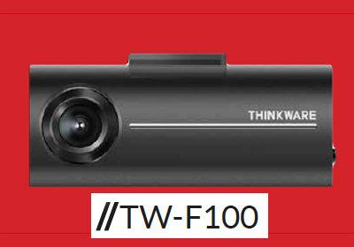 TW-F100 thinkware dash camera
