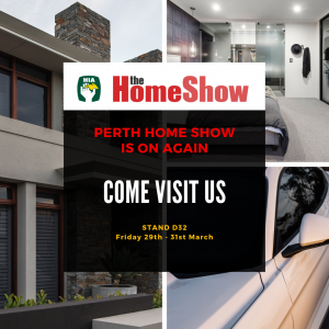 Perth Home Show Tinting